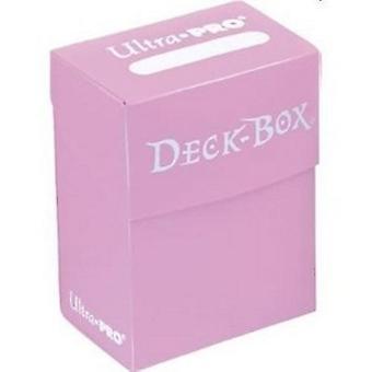 Ultra Pro Deck Box suojaa kortteja-vaaleanpunainen