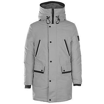 Calvin Klein Männer Otto Down Parka Mantel Kapuze Langarm Warm Jacket Top