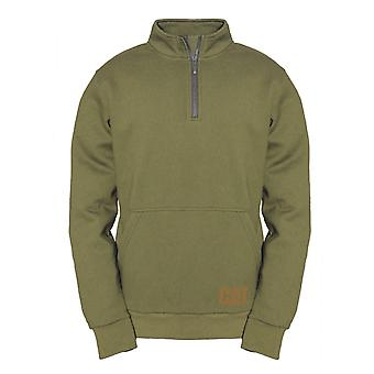 Caterpillar Mens AG 1/4 Zip Pull Over Jumper