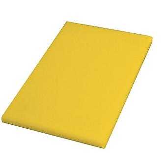 Quid Polyethylene Propesional Yellow Table 40X30X2