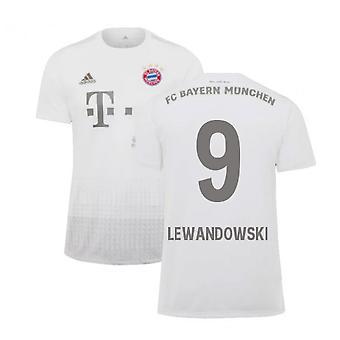 2019-2020 Bayern München Adidas borte fotball skjorte (LEWANDOWSKI 9)
