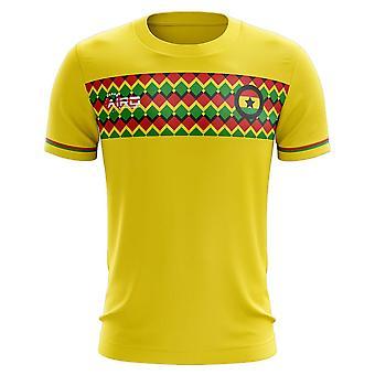 2020-2021 Ghana tredje konsept fotball skjorte