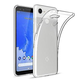Google Pixel 3A Silicone Case Transparent - CoolSkin3T