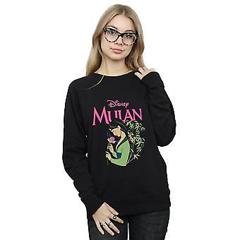 Disney Women's Mulan Pink Magnolia Sweatshirt