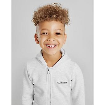 New McKenzie Boys' Essential Zip Through Hoodie Grey