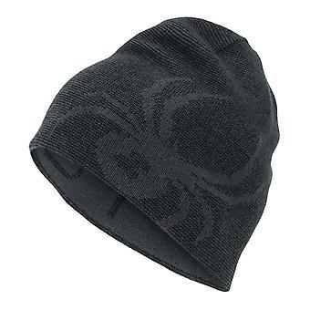 Spyder REVERSIBLE BUG Kids Ski Hat - charcoal