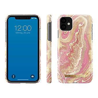 iDeal Of Sweden iPhone 11 - Golden Blush Marble