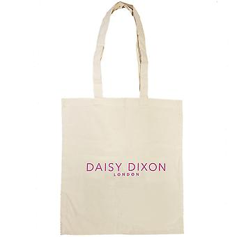 "Daisy Dixon London Ladies - Jenter Tote Shopping Bag & quot;Vi Live Mote"" SC1714"