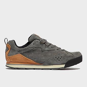 New Merrell Men's Burnt Rock Tura Denim Low Shoes Grey