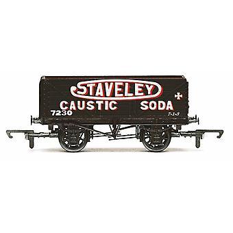 Hornby 7 Plank Wagon, Staveley - Era 3