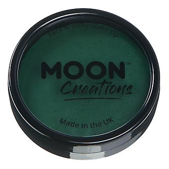 Moon Creations - Pro Face & Body Paint Cake Pots - Dark Green