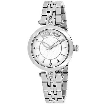 Just Cavalli Women's Just Florence Silver Dial Watch - 7253149503
