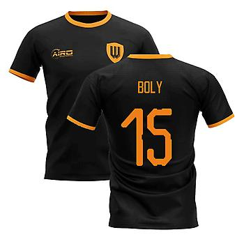 2019-2020 Wolverhampton away concept voetbal shirt (BOLY 15)