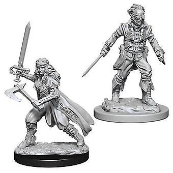 D&D Nolzur's Marvelous Unpainted Miniatures Vampire Hunters (Pack of 6)
