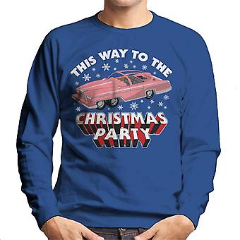 Thunderbirds FAB 1 This Way To The Christmas Party Men's Sweatshirt