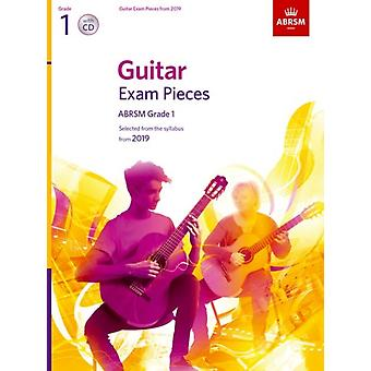 Guitar Exam Pieces from 2019 ABRSM Grade 1 with CD