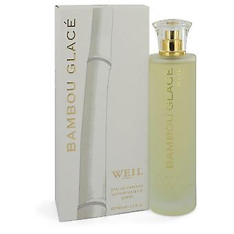 Bambou glace eau de parfum spray by weil 548291 100 ml