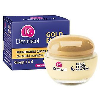 Dermacol  Gold Elixir Rejuvenating caviar night cream