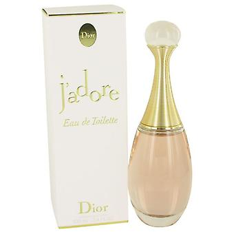Jadore eau de toilette spray by christian dior 414249 100 ml