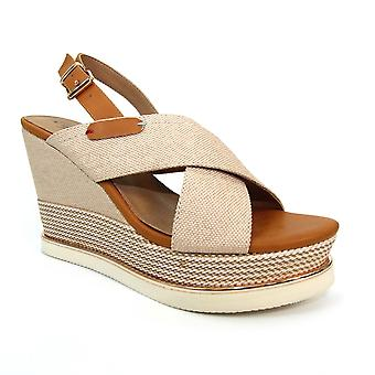 Måne Lorna High Wedge Sandal