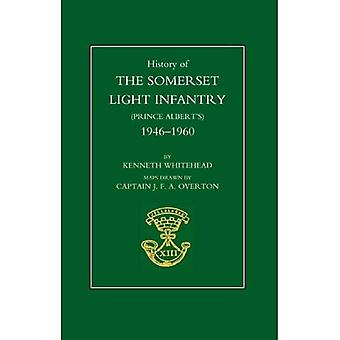 Histoire de l'infanterie légère de Somerset (Prince Albert): 1946-1960