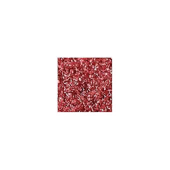 Os cristais do açúcar de poeira do arco-íris 50g faísca polvilham o vermelho