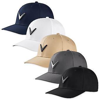 Callaway Golf Unisex 2020 Metal Icon Cotton UV Protection Stretch Snapback Cap
