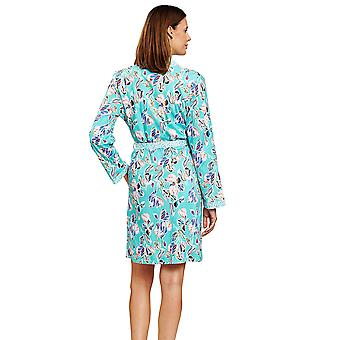 Rösch 1203139-15647 γυναίκες ' s νέα ρομαντική σύγχρονη μπλε άνθη floral ρόμπα dressing φόρεμα