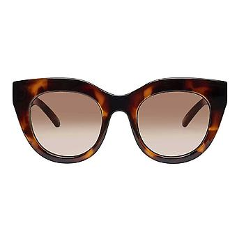 Le Specs Air Heart Toffee Tortoise Cat Eye Sunglasses