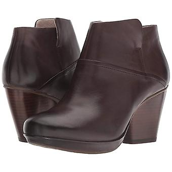 Dansko Womens Miley Leather Almond Toe Ankle Fashion Boots
