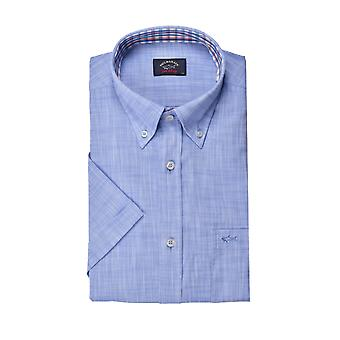 Paul & Shark Paul And Shark Short Sleeve Shirt Light Blue