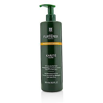 Karite Nutri Nourishing Ritual Intense Nourishing Shampoo - Very Dry Hair (salon Product) - 600ml/20.2oz
