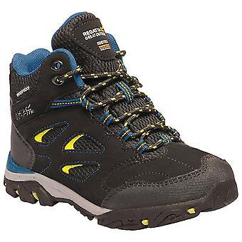 Regatta Black/neon Childrens Holcombe IEP Mid Junior Walking Boot