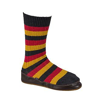 Black & Blue 1871 Mens Mohicans Slipper Socks