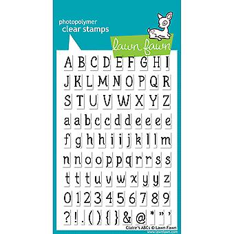 Nurmikko Fawn Clear Stamps - Claire's ABC