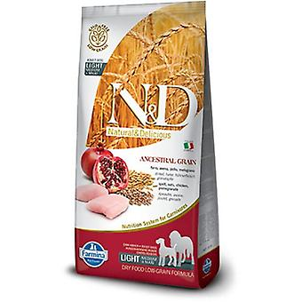 Farmina N&D Low Ancestral Grain Light Mini & Medium Chicken and Granda