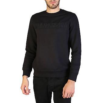 Napapijri Original Men Fall/Winter Sweatshirt - Black Color 35903