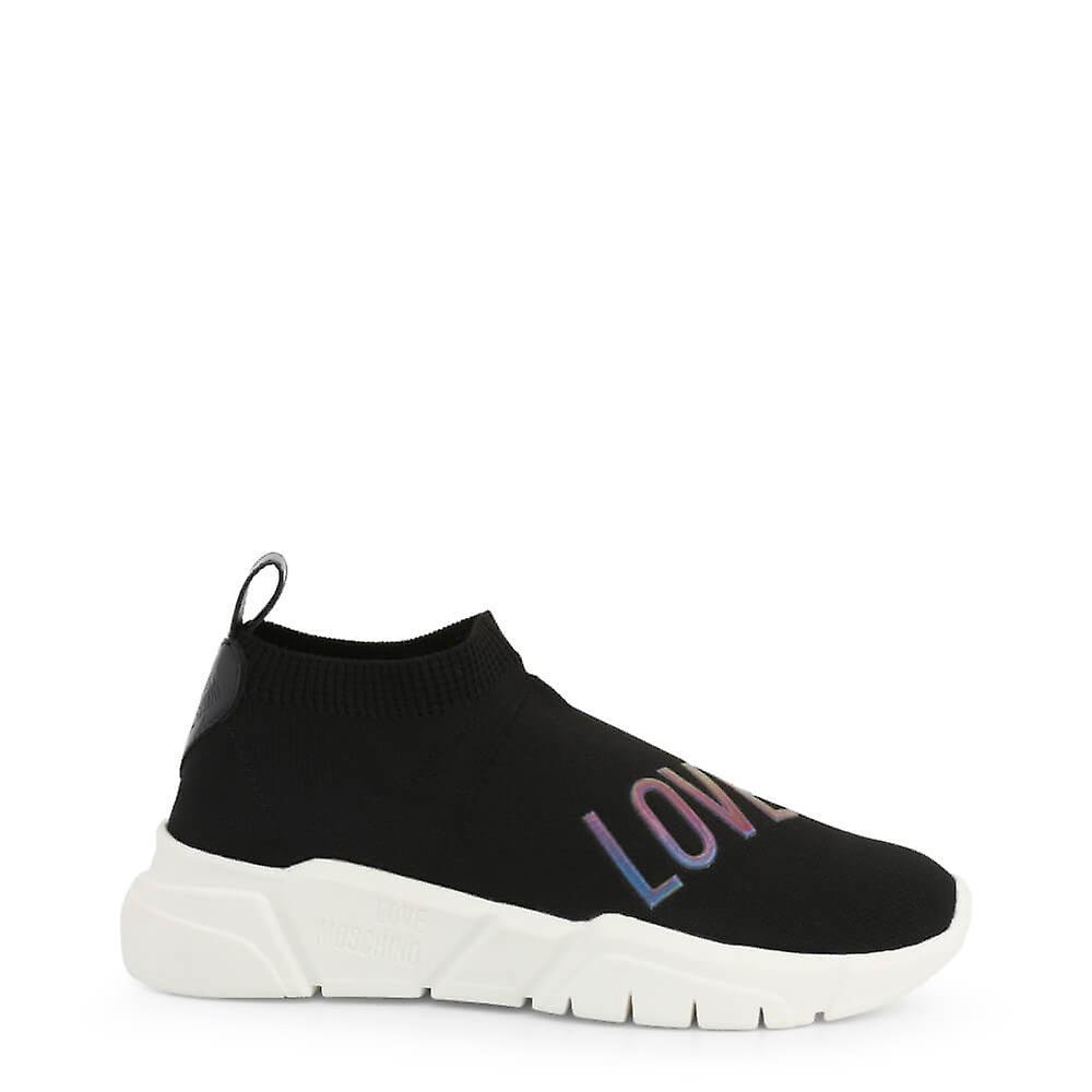 Love Moschino Original Women Fall/Winter Sneakers - Black Color 41816 sDVSM