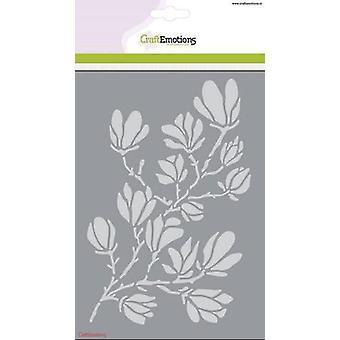 CraftEmotions Mask stencil - magnolia A5 vårtid