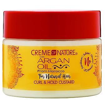 Creme of Nature Argan Oil Curl & Hold Custard 326g