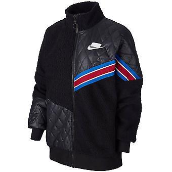 Nike Wmns Track Jkt Sherpa BV3040011 universelle hele året kvinder jakker
