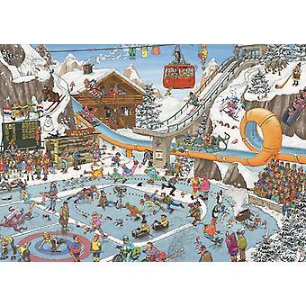 Jan Van Haasteren Winter Games Jigsaw Puzzle (1000 Pieces)