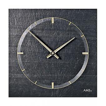 Ceas de perete ardezie AMS-9516