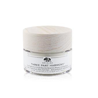 Origens Três Partes Harmony Day/Night Eye Cream Duo para reparação de renovação e amp; Radiance - 30ml/1oz