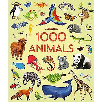 1000 Animals by Jessica Greenwell - 9781474951340 Book