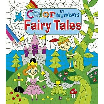 Color by Number Fairytales by Arcturus Publishing - 9781784284824 Book