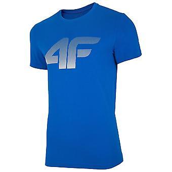 4F NOSH4 TSM004 NOSH4TM004KOBALT universale tutto l'anno t-shirt uomo