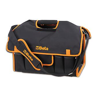 Beta 021100001 C10S Tool Box Made Of Fabric With Tool Tray Empty