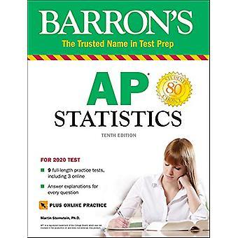 Barron's AP Statistics with Online Tests by Martin Sternstein - 97814