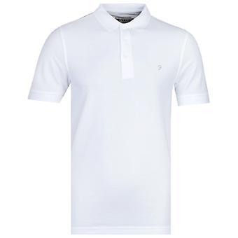 Farah Regular Fit White Cove Polo Shirt